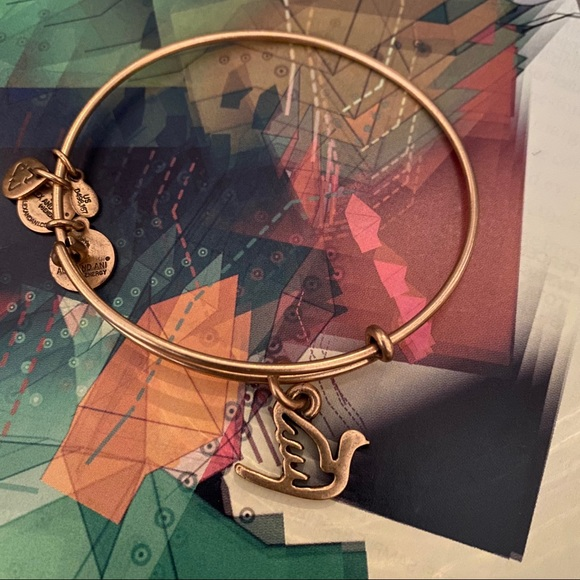 Alex and Ani Jewelry - Alex and Ani Sacred Dove Bracelet